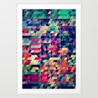 hunter Art Prints featuring Atym by Spires