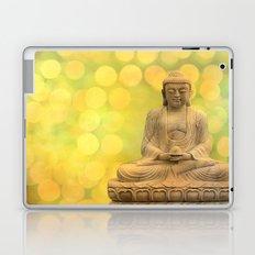 Buddha light yellow Laptop & iPad Skin