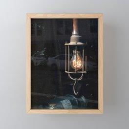 What Light Through Yonder Window... Framed Mini Art Print
