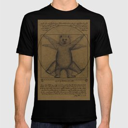 The Vitruvian Bear T-shirt