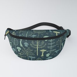 Magic Forest Green Fanny Pack
