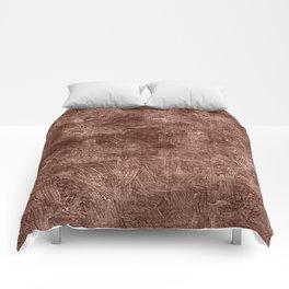 Cognac Oil Painting Color Accent Comforters