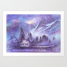 Winter Winds Art Print