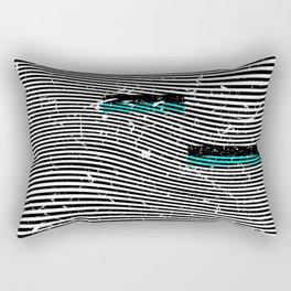 Striposcopy Rectangular Pillow