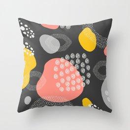 Abstract shape art, Pattern Print, Illustration Art Print, Minimalist art Throw Pillow