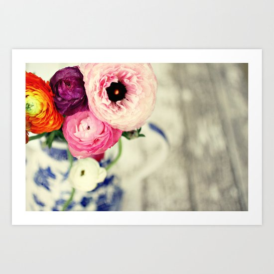 colors of happiness Art Print