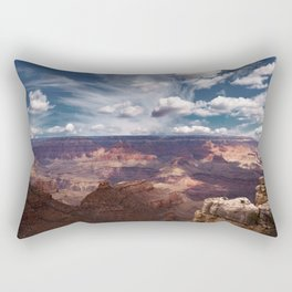 The Storm on the North Rim Rectangular Pillow