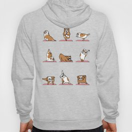 English Bulldog Yoga Hoody