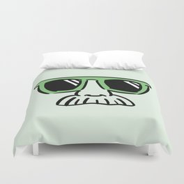 Too Cool (yellow green) Duvet Cover