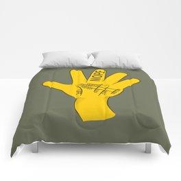 Palmistry Nope Comforters