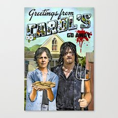Greetings from Carol's Canvas Print