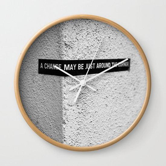 A change Wall Clock