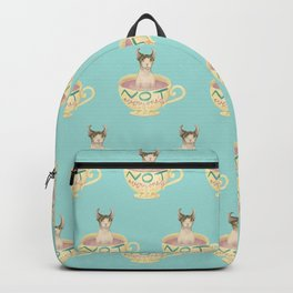 Not Everyone's Cup Of Tea - Sphynx Cat - Part 5 Backpack