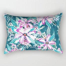 GARDENS OF TIBURON Floral Rectangular Pillow