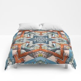 Abstract Geometric Structures Comforters