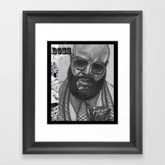 BOSS Framed Art Print