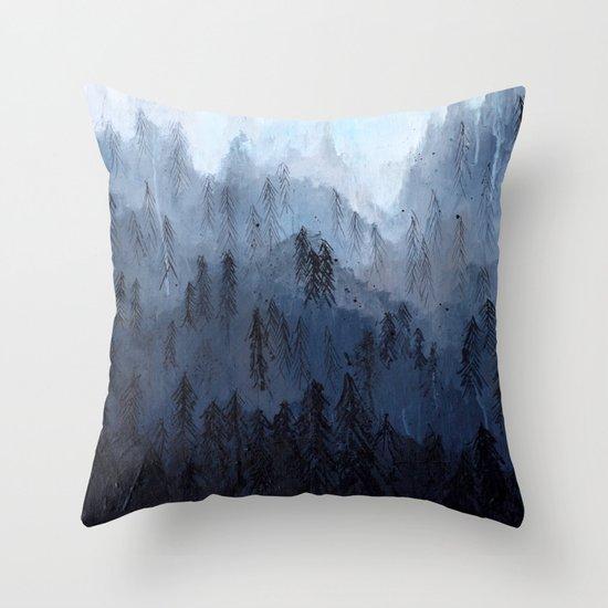 Mists No. 3 Throw Pillow