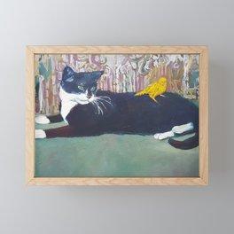 Phyllis and Pinky Framed Mini Art Print
