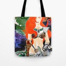 Warrior Lady.  Tote Bag