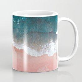 Turquoise Sea Pastel Beach III Coffee Mug
