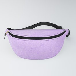 Pastel Ultra Violet Lilac Purple Grunge Ombre Pastel Texture Vintage Style Fanny Pack