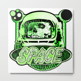 The Space Explorer Metal Print