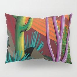 Cactus on Mountaintop Pillow Sham