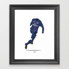 Paris St. Germain (PSG) 2012/13 Framed Art Print