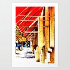 Canopy Walk Art Print