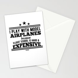 Aircraft Model Model sailors Stationery Cards