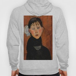 "Amedeo Modigliani ""Marie (Marie, fille du peuple)"" Hoody"