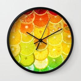 Fruit Madness - Citrus Wall Clock