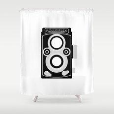 Rolleiflex 35C Shower Curtain