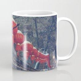 Red Lanterns in Chinatown, NYC Coffee Mug