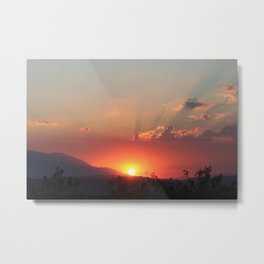 Heavens Glow Metal Print