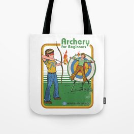 ARCHERY FOR BEGINNERS Tote Bag