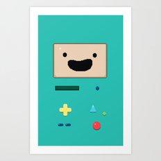 Pixel BMO Art Print