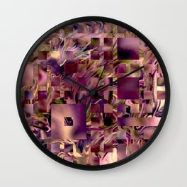 Sleepless Night,softly colors Wall Clock
