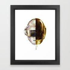 DAFTPUNK II Framed Art Print