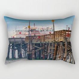 Balboa Pier 2 Rectangular Pillow