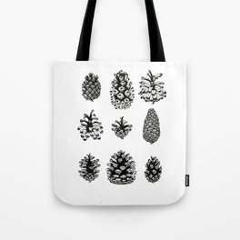 Pinecone study Tote Bag