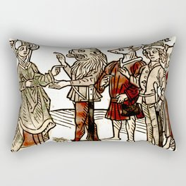 Circe in De claris mulieribus Rectangular Pillow