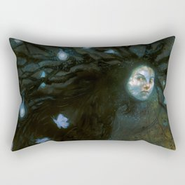 The Fairy Seller Rectangular Pillow