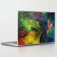 blanket Laptop & iPad Skins featuring Blanket of Stars 2 by Klara Acel