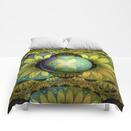 The Enchanted Feathers of the Golden Snitch Comforters