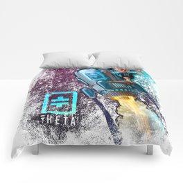 Distressed Theta Rocket Comforters