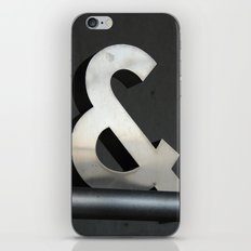 Ampersand iPhone & iPod Skin
