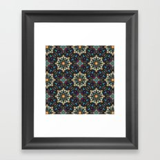 Abstract Cathedral Kaleidoscope Framed Art Print