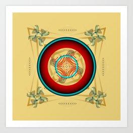 Circle Study No. 453 Art Print