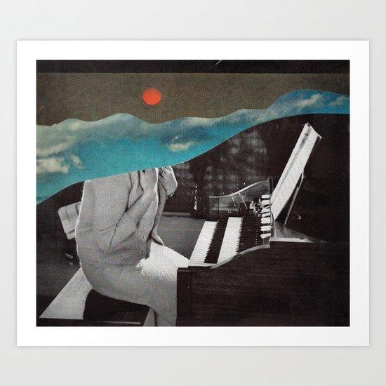 Listen To The Sunset Art Print
